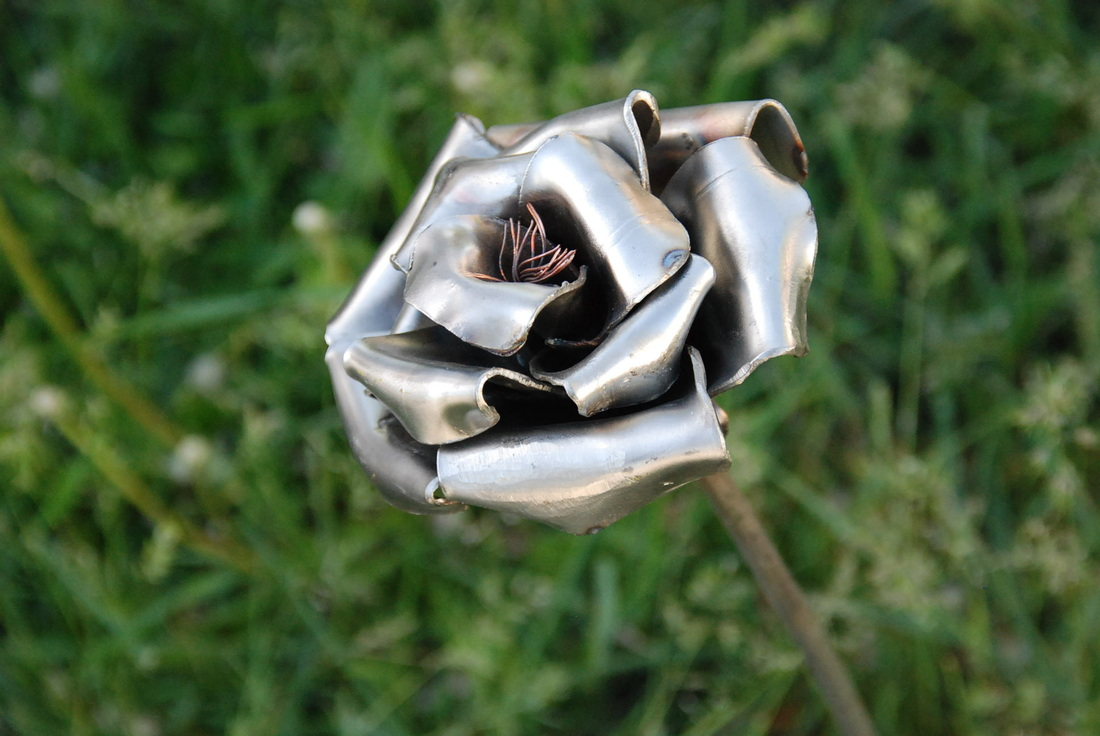 Stainless steel ornaments - Stainless Steel Rose Will Last 500 Yeas Plus 150 00 Each